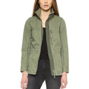 Army Green Fleet Jacket